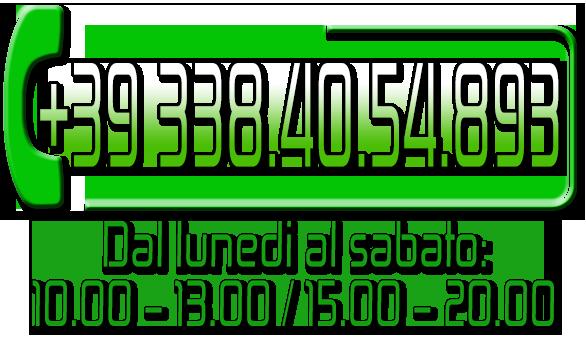 Chiamaci! Il nostro Numero è sempre attivo!!!